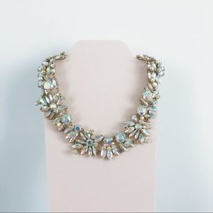 J. Crew • Iridescent Crystal Cluster Necklace